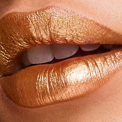 Esika Colorfix maquillaje metalizado - Dorado Tostado