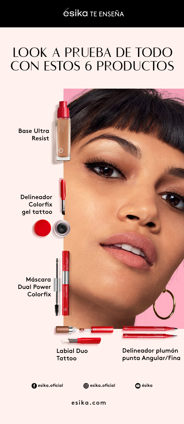 Maquillaje Colorfix ésika