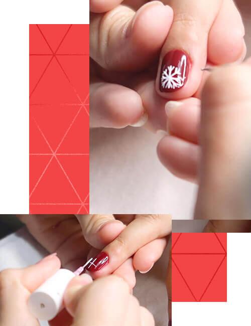 Nail Art Para Navidad Diseño De Uñas Para Esta Temporada Esika