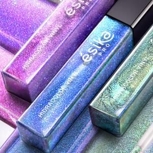 Accesorios con colores holograficos