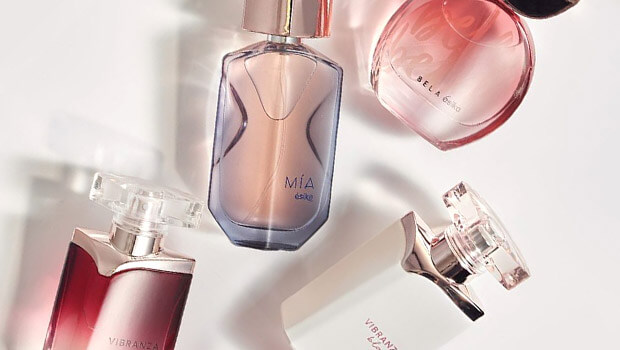 como se crean perfumes ésika