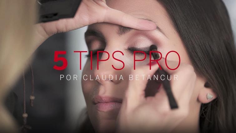 5 Tips con Claudia Betancur