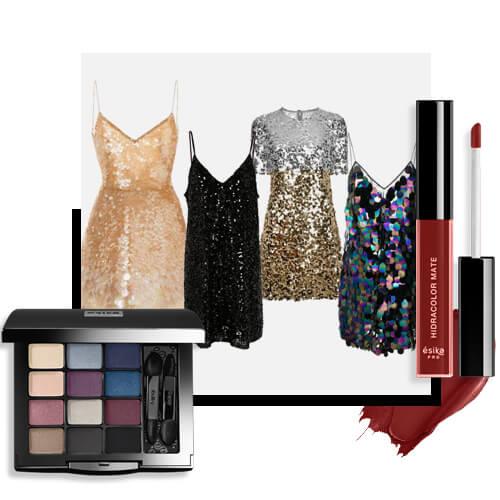 Maquillaje para fiesta fin de año doceteto smokey nude hidracolor mate nude rose