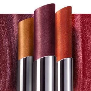 Esika Colorfix maquillaje metalizado labiales y minas