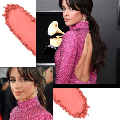 Camila Cabello Poder Rosa Grammy 2019 Rubor Rosa Glam de Esika