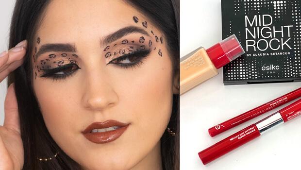 Maquillaje Leopardo Halloween ésika