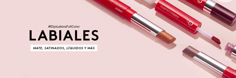 ¡Dale color a tus labios con estos labiales!