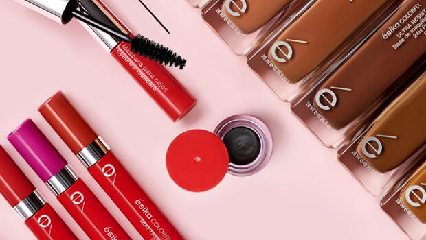 Linea de maquillaje colorfix ésika