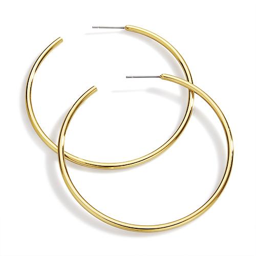 Aretes Golden Hoop